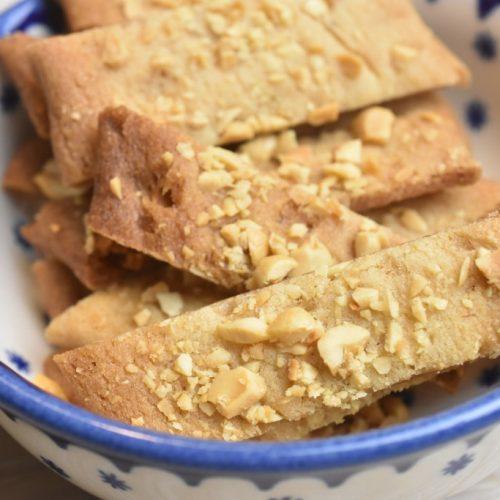 Karamelkager med peanuts småkage opskrift