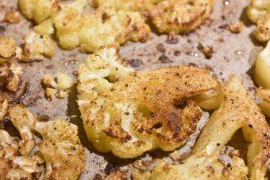 Blomkål i ovn - bagt blomkål med barbecue