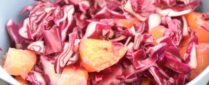 Rødkålssalat med appelsin