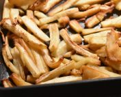 Pastinak fritter - lækre rodfrugt pommes frites
