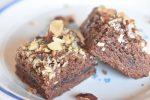 Brownie cookie kage med chokolade - opskrift