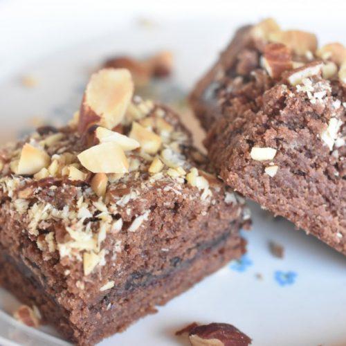 Brownie cookie kage opskrift med chokolade