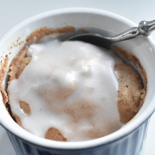 Kage i kop med kanel - nem fedtfattig opskrift