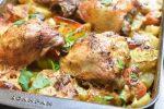 One Pot kylling med kartofler & fløde - opskrift