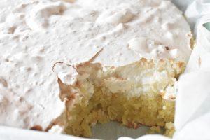 Herregårdskage - kage med marengs opskrift