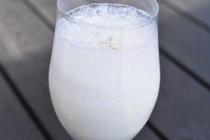 Milkshake - nem opskrift på vaniljemilkshake