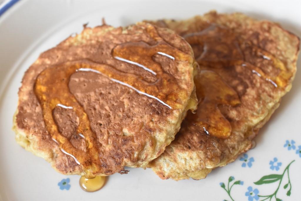 Pandekager med havregryn til brunch - sunde