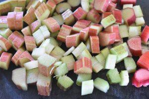 Kokoskage med rabarber nem lækker opskrift