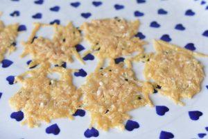 Parmesanchips opskrift - chips af parmesan