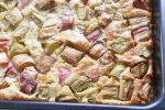 Clafoutis med rabarber - rabarberkage opskrift