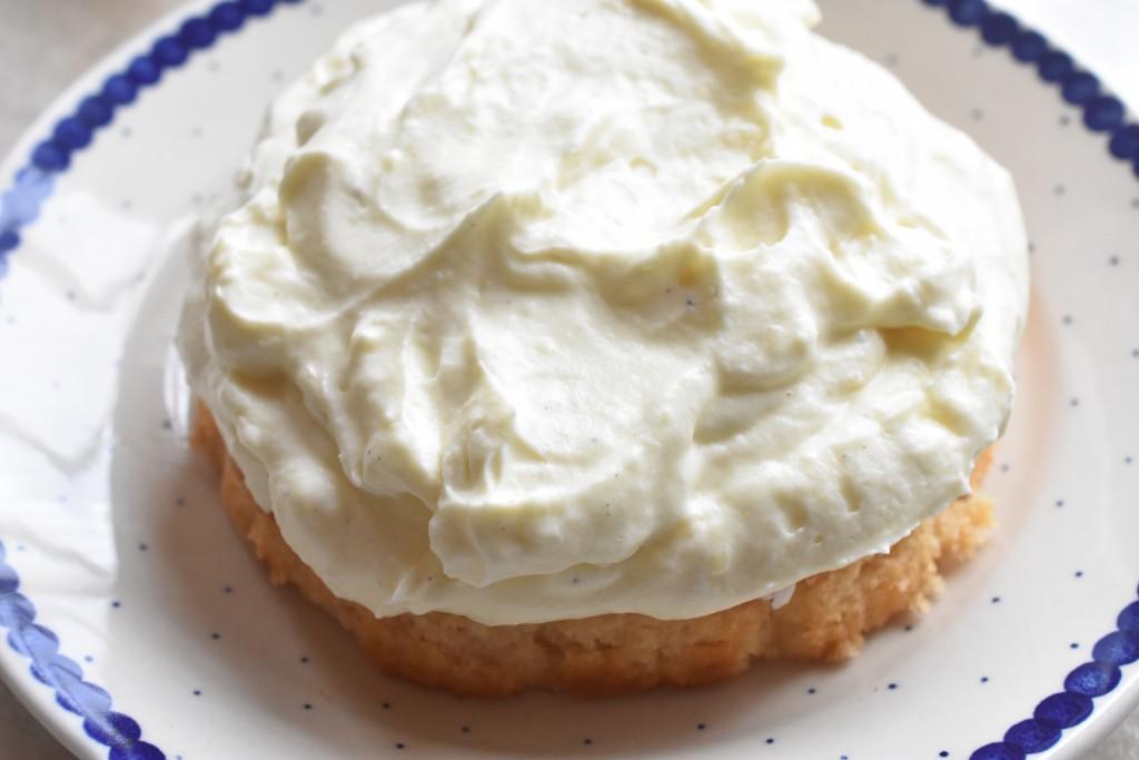 Kagecreme med fløde opskrift på vaniljecreme