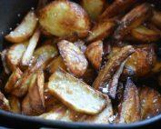 Pommes frites i airfryer eller Actifry - opskrift