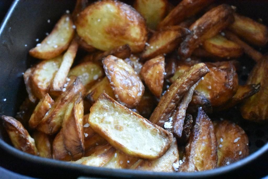 Pommes frites i Airfryer ell. Actifry - opskrift