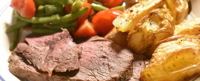 Rib eye steg - opskrift på steaks som hel steg