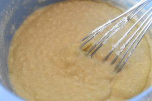 Blommetærte - nem blommekage med kokos