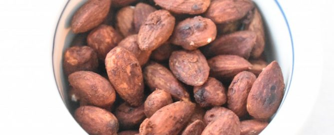 Soyamandler salte mandler med soya opskrift