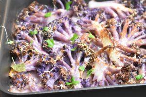 Blomkål med mornaysauce bagt i ovn opskrift