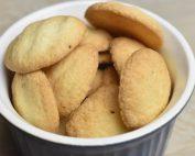 Småkager med kartoffelmel & vanilje glutenfri