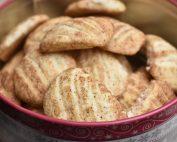 Glutenfri småkager med kanel - gaffelkager