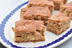 Peanutbutter brownie - kage med peanuts