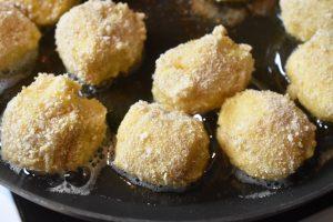 Mozzarella kartofler - kartoffelfrikadeller