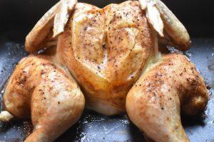 Butterfly kylling - lækker sprødstegt sommerfugle kylling i ovn