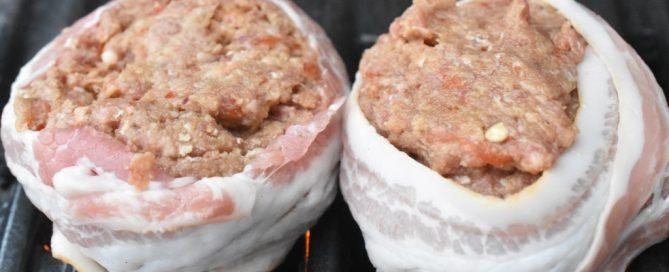 Hakkebøf med grøntsager og bacon - opskrift