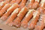 Jomfruhummerhaler i ovn med hvidløgssmør