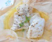 Torsk i ovn med smør & citron - ovnbagt torsk