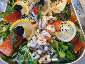 Fødselsdagsfest med lækker mad fra Apetit