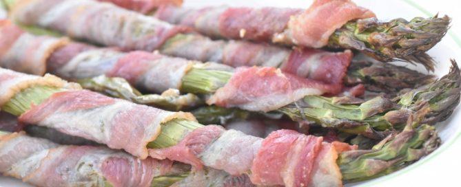 Asparges med bacon - nemt lækkert tilbehør