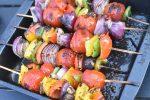 Grøntsagsspyd på grill - lækre vegetar grillspyd