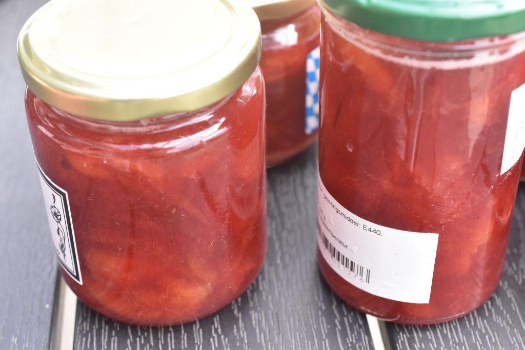 Mirabelle marmelade med vanilje - opskrift